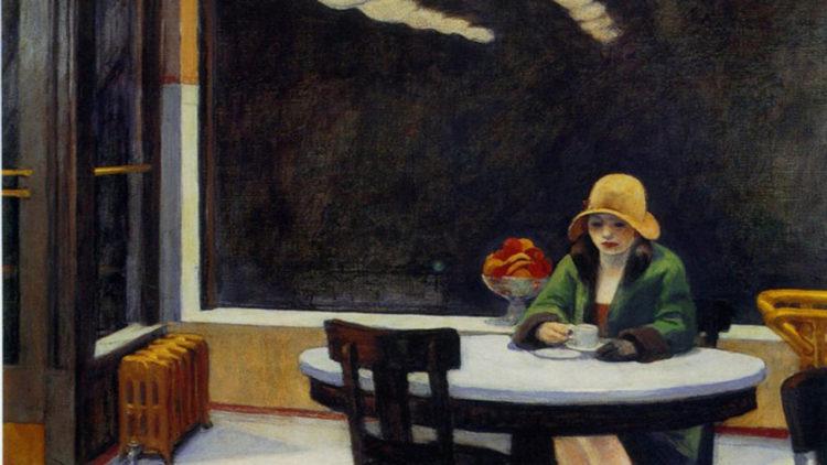 لوحة للفنان الأمريكي «إدوارد هوبر»