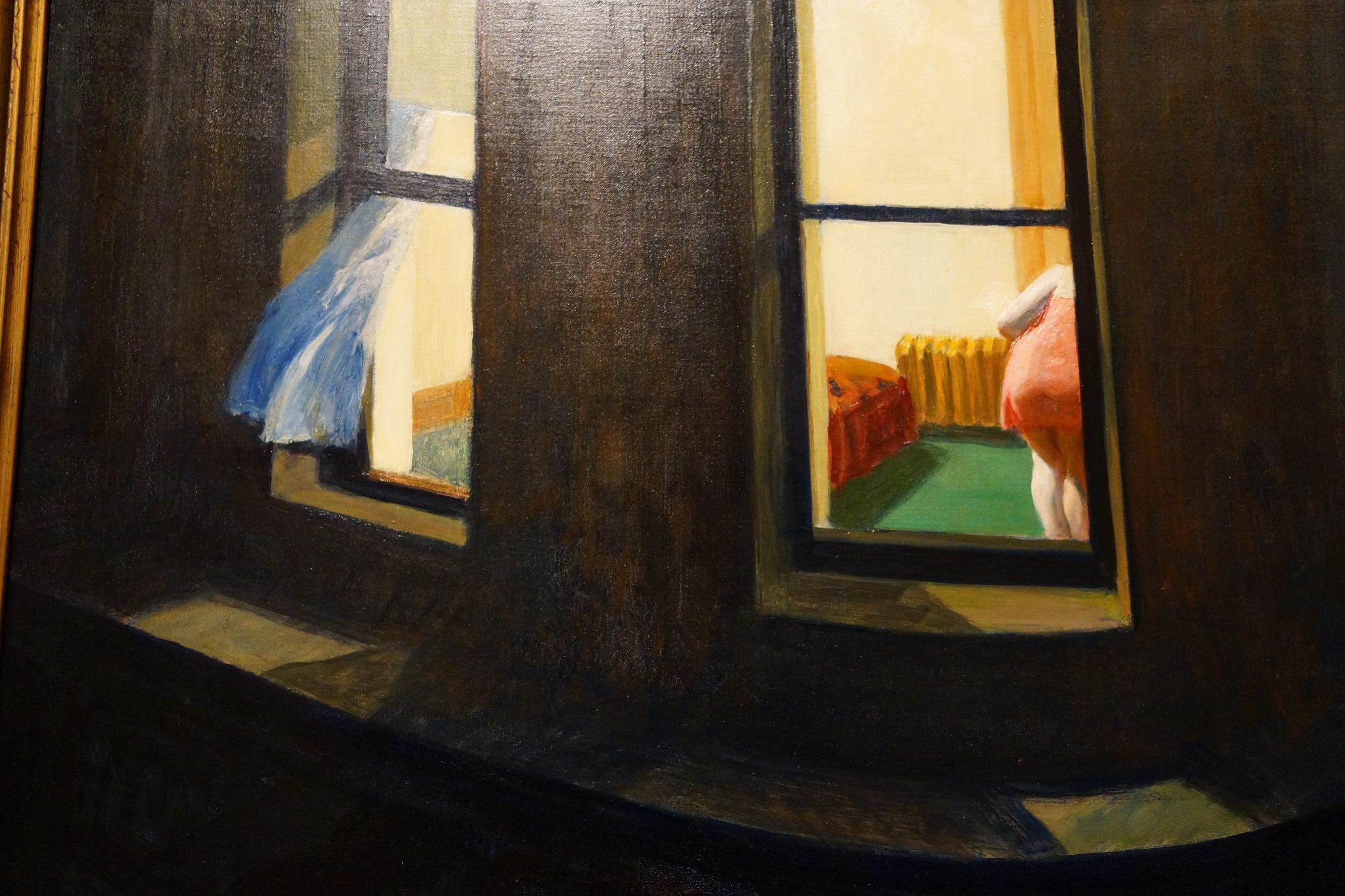 نوافذ الليل، إدوارد هوبر