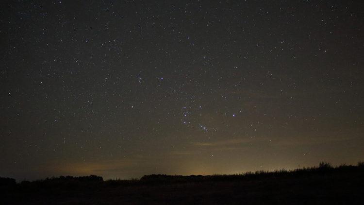 خريطة سماء الليل, رصد فلكي, فلك, نجوم, الوطن العربي, الجبار