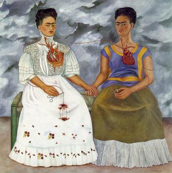 لوحة, The Two Fridas, فريدا كاهلو