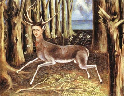 لوحة, The wounded deer, فريدا كاهلو