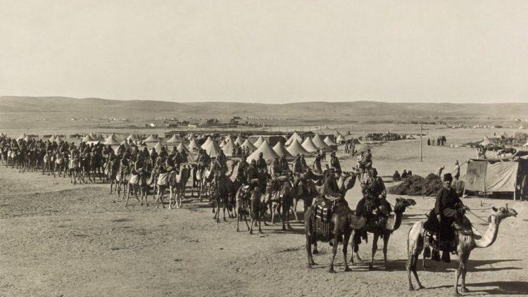 العثمانيين, البدو, الحرب العالمية الأولى