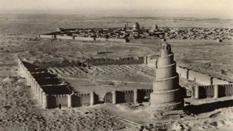 جامع الملوية، سامراء، الدولة العباسية
