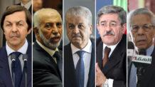 سعيد بوتفليقة، عبد العزيز بلخادم، عبد المالك سلال، أحمد أويحيى، مولود حمروش