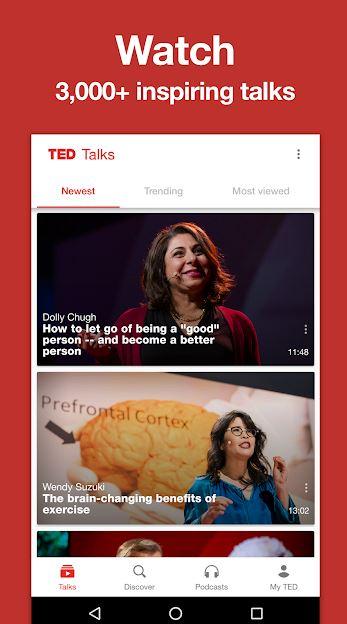 تطبيقات علمية، علوم، تطبيقات ذكية،TED