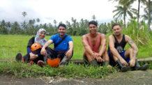 صديقين تعرفنا عليهما في رحلة في جزيرة بالي في إندونسيا