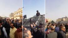 نزلة السمان الهرم, الأمن المصري, أحداث نزلة السمان, هدم منازل المواطنين, مصر