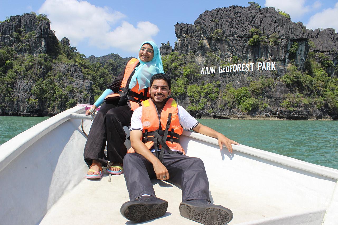 رحلة نهرية جزيرة لانكاوي ماليزيا