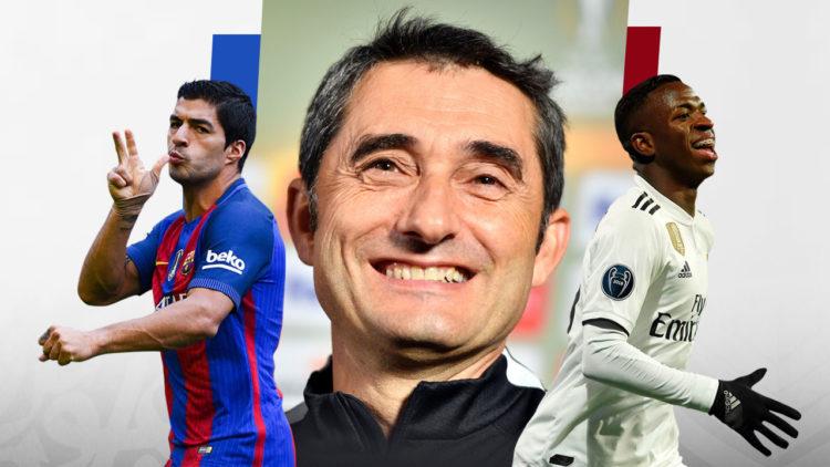ارنستو فالفيردي، فينيسيوس جونيور، لويس سواريز، برشلونة، ريال مدريد