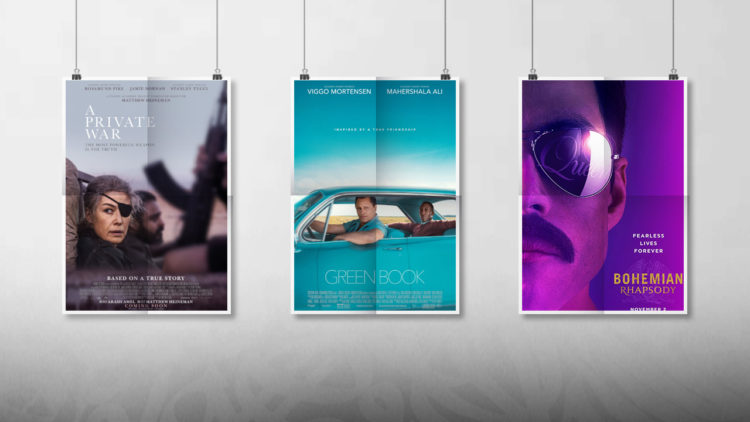 أفلام أجنبية, Bohemian Rhapsody, A Private War، Green Book, رامي مالك