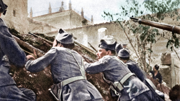 الحرب الأهلية الإسبانية