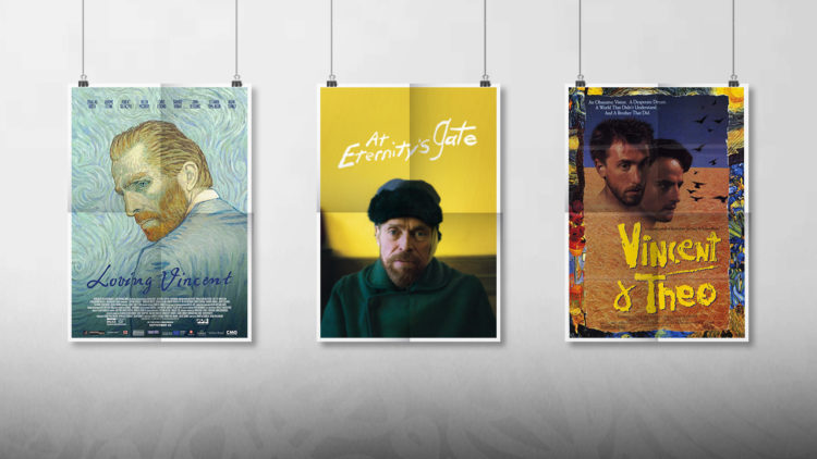 فان جوخ، سينما، at eternity's gate, loving vincent, vincent & theo