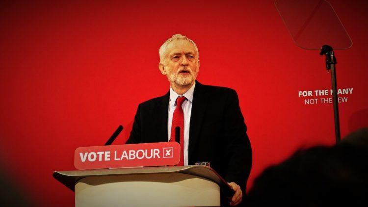 بريطانيا، جيرمي كوربين، حزب العمال