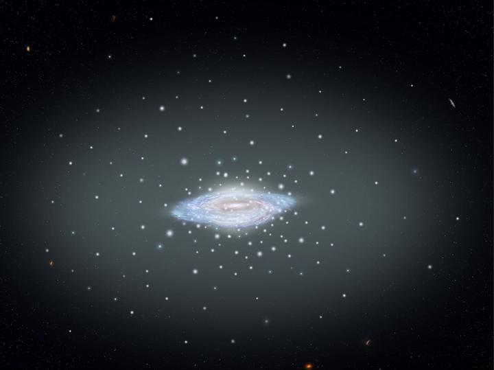 درب التبانة، المجرة، هابل، جايا، كتلة المجرة