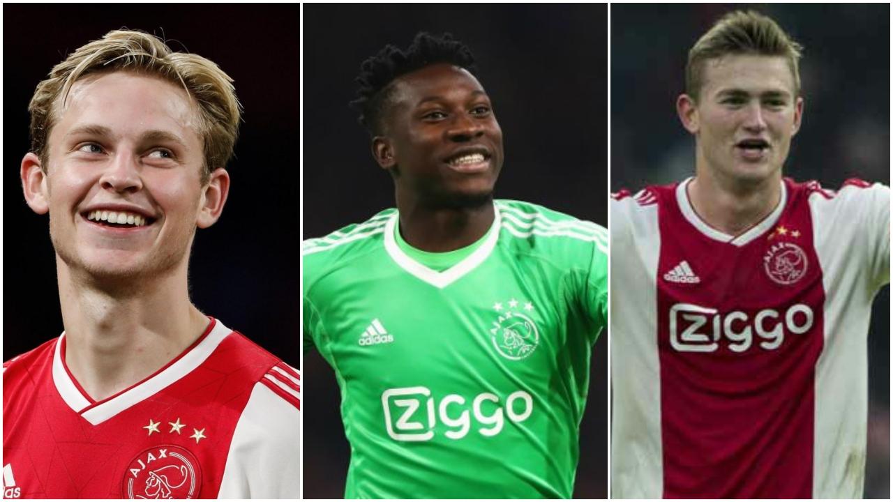 أياكس، هولندا، دوري أبطال أوروبا، دي ليخت، دي يونج.