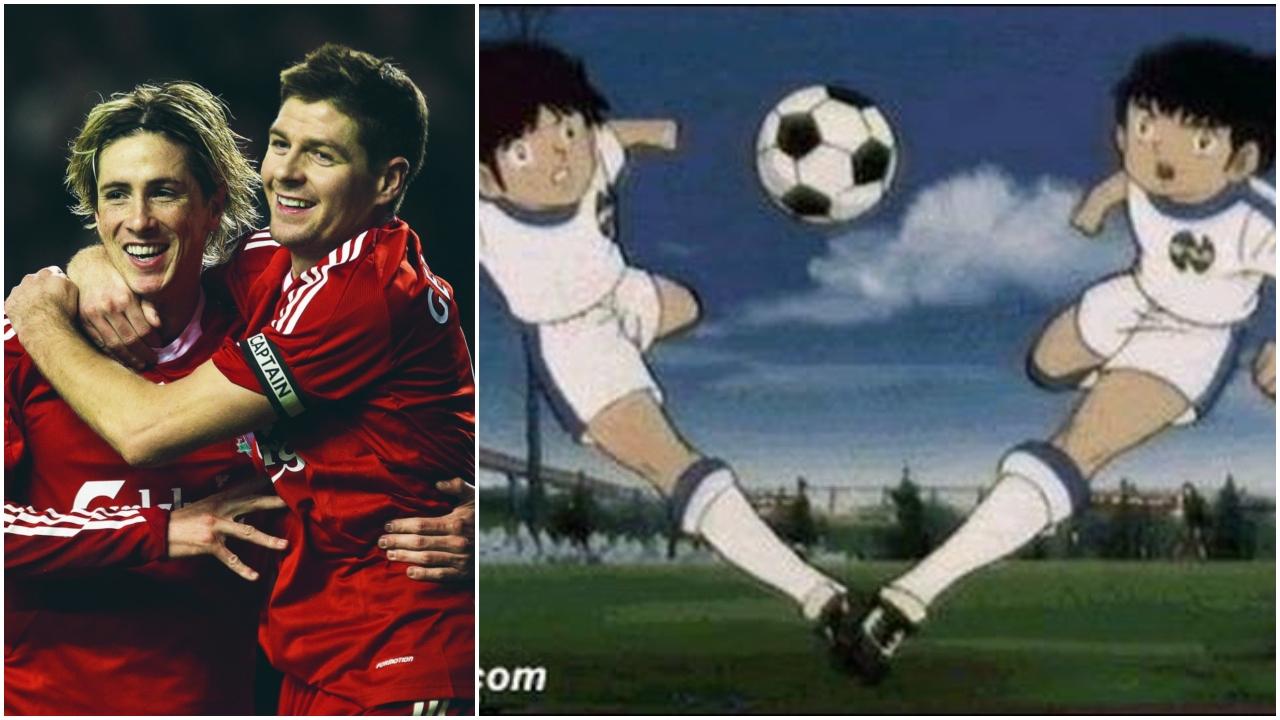 فرناندو توريس، ستيفن جيرارد، ليفربول، الدوري الإنجليزي.