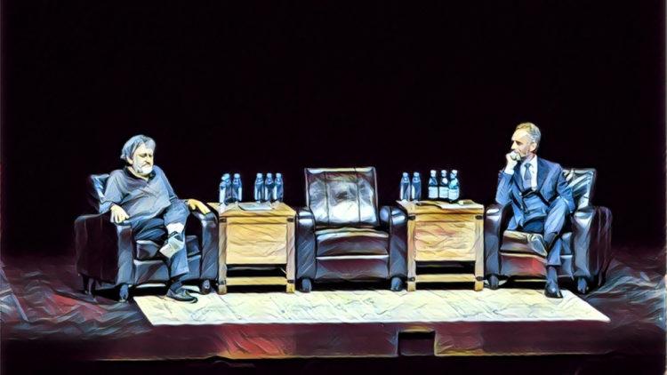 جوردان بيترسون، سلافوي جيجك، فلسفة، علم نفس، مناظرة