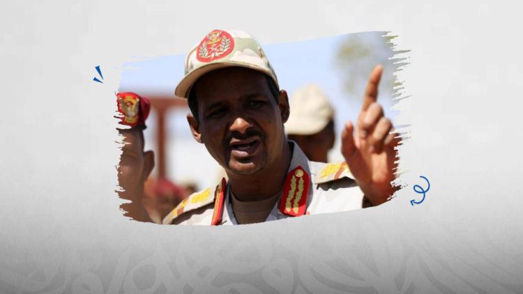 محمد حامد حميدتي قائد قوات الدعم السريع السودان