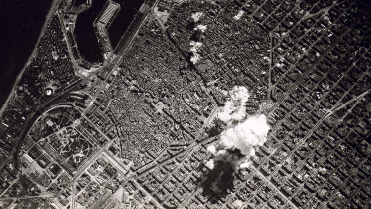 كتالونيا, الحرب الأهلية الإسبانية, برشلونة