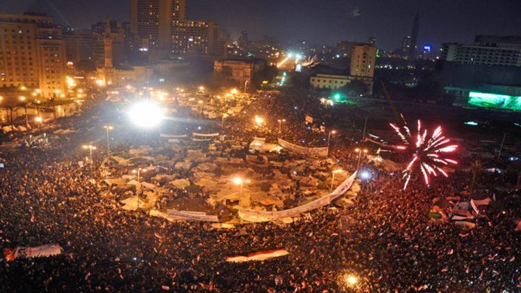 ثورة 25 يناير، الربيع العربي، مصر، ميدان التحرير