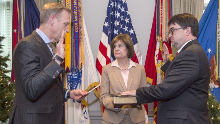 باتريك شاناهان، وزير الدفاع الأمريكي، الولايات المتحدة الأمريكية
