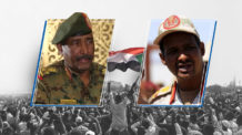 ثورة السودان، عبد الفتاح برهان، حميدتي