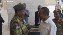 السودان، إثيوبيا، الثورة السودانية