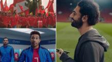 محمد صلاح, بيبسي, كوكاكولا, محمود حسن تريزيجيه, فودافون, منتخب مصر كأس الأمم الإفريقية, إعلانات