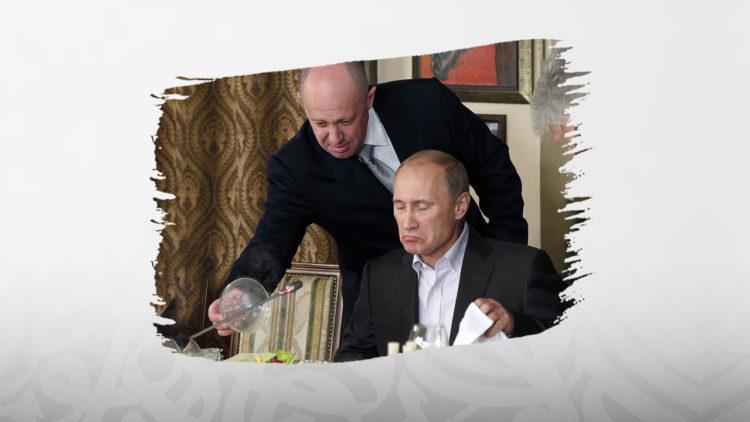 يفغيني بريغوجين, روسيا, طباخ الريس