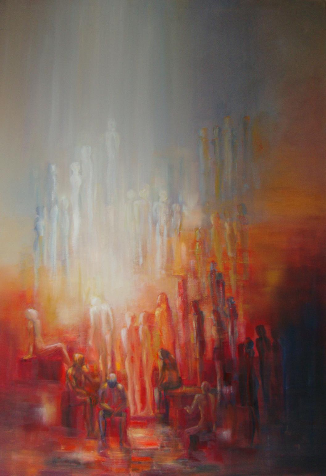 ثورة يناير، فن تشكيلي