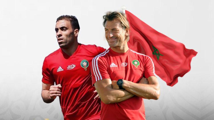 هيرفي رينارد، عبدالرزاق حمدالله، منتخب المغرب، كأس الأمم الإفريقية