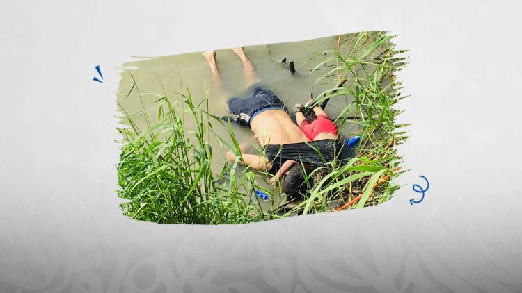 الهجرة غير الشرعية، المسكيك، الولايات المتحدة الأمريكية، أب، طفلة، غرق