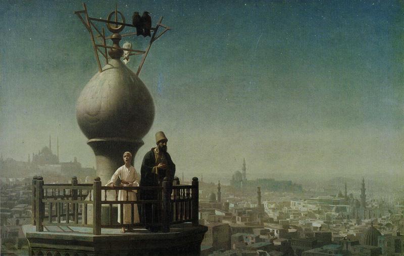 فن تشكيلي, رسم, المؤذن, فرنسا, القاهرة