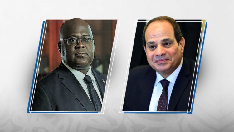 فيليكس تشيسيكيدي، عبد الفتاح السيسي، مصر، الكونغو