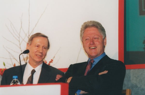 أنتوني جيدنز، بيل كلينتون