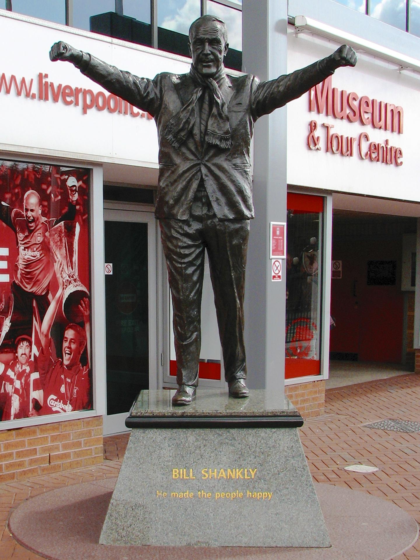 بيل شانكلي, ليفربول, ملعب أنفيلد