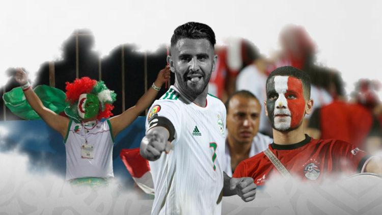 الجزائر، مصر، كأس الأمم الأفريقية، رياض محرز