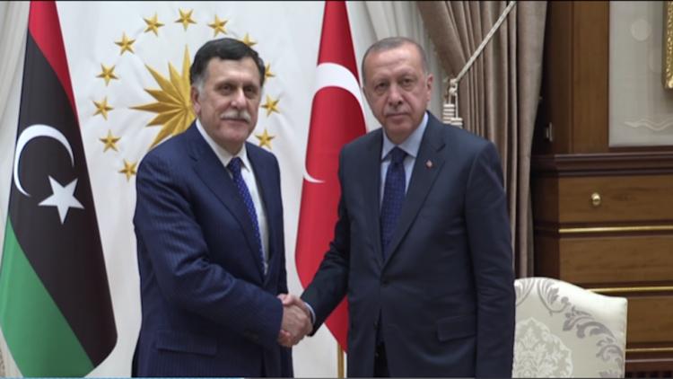 ليبيا، تركيا، حكومة الوفاق الوطني، طرابلس، خليفة حفتر