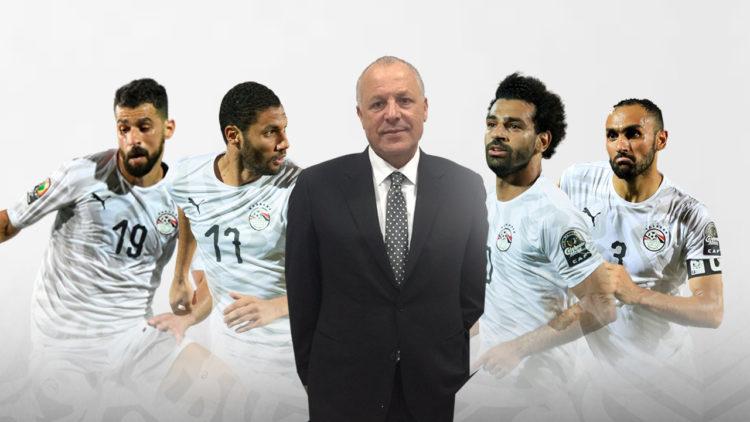 أحمد المحمدي, محمد صلاح, هاني أبوريدة, محمد النني, عبدالله السعيد