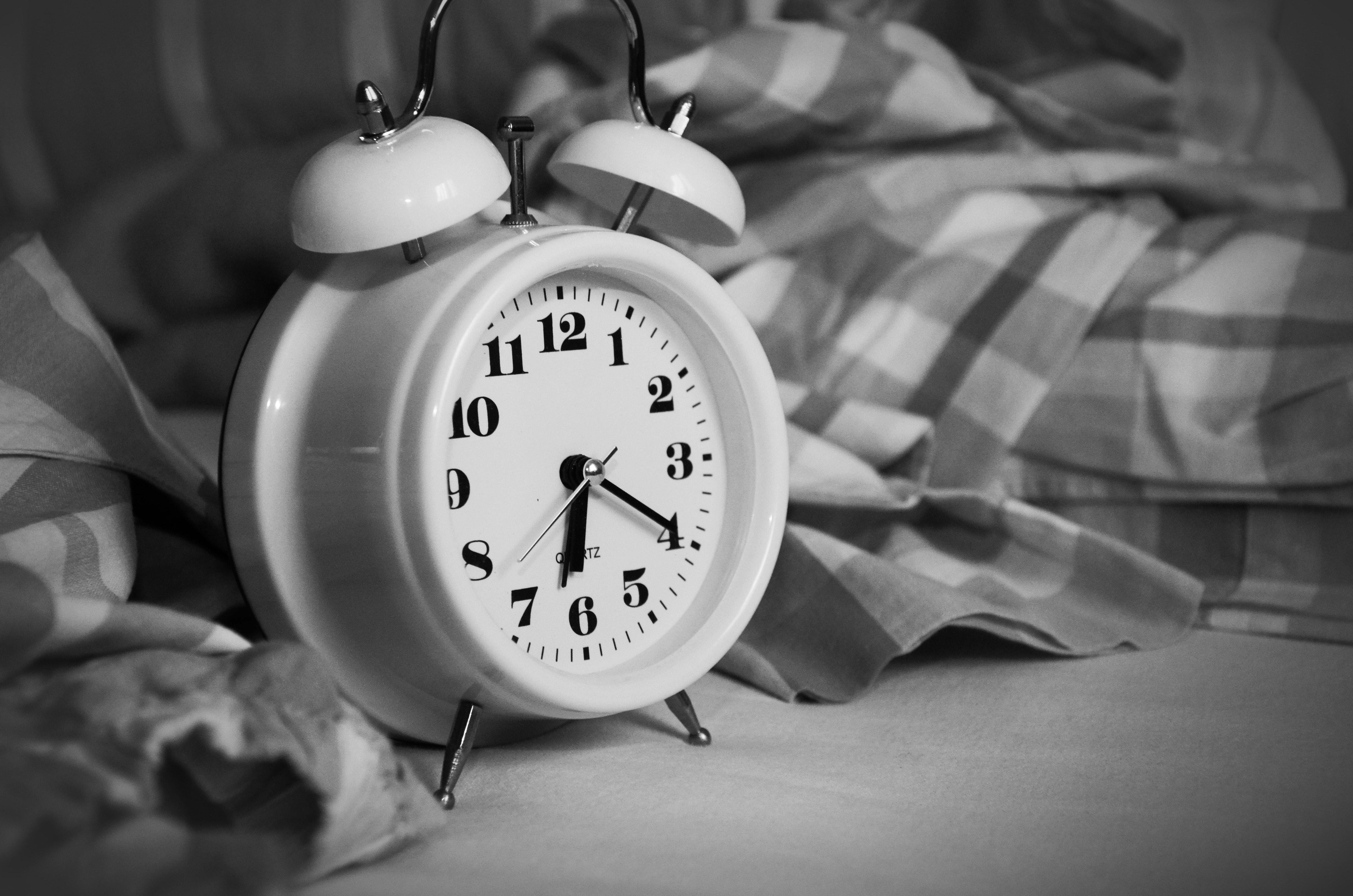 ريادة أعمال, النوم, منبه