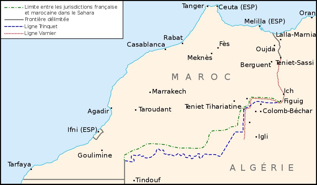 خريطة توضيحية لمسارات طريق الحرير