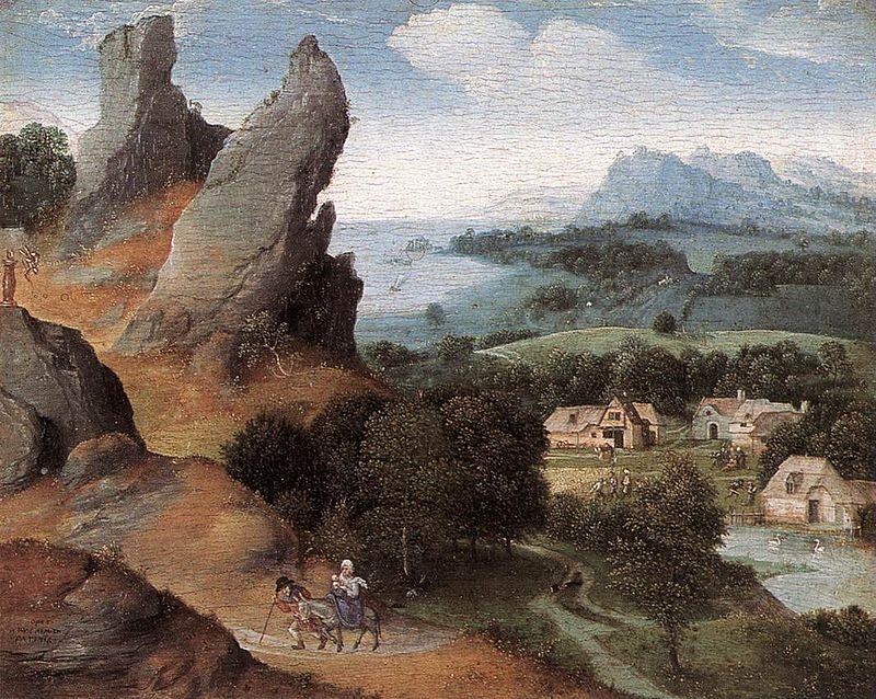 Joachim patinir، فن تشكيلي