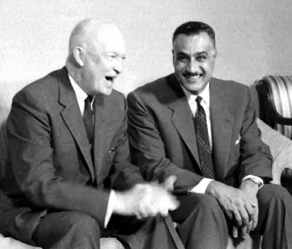 عبدالناصر أيزنهاور
