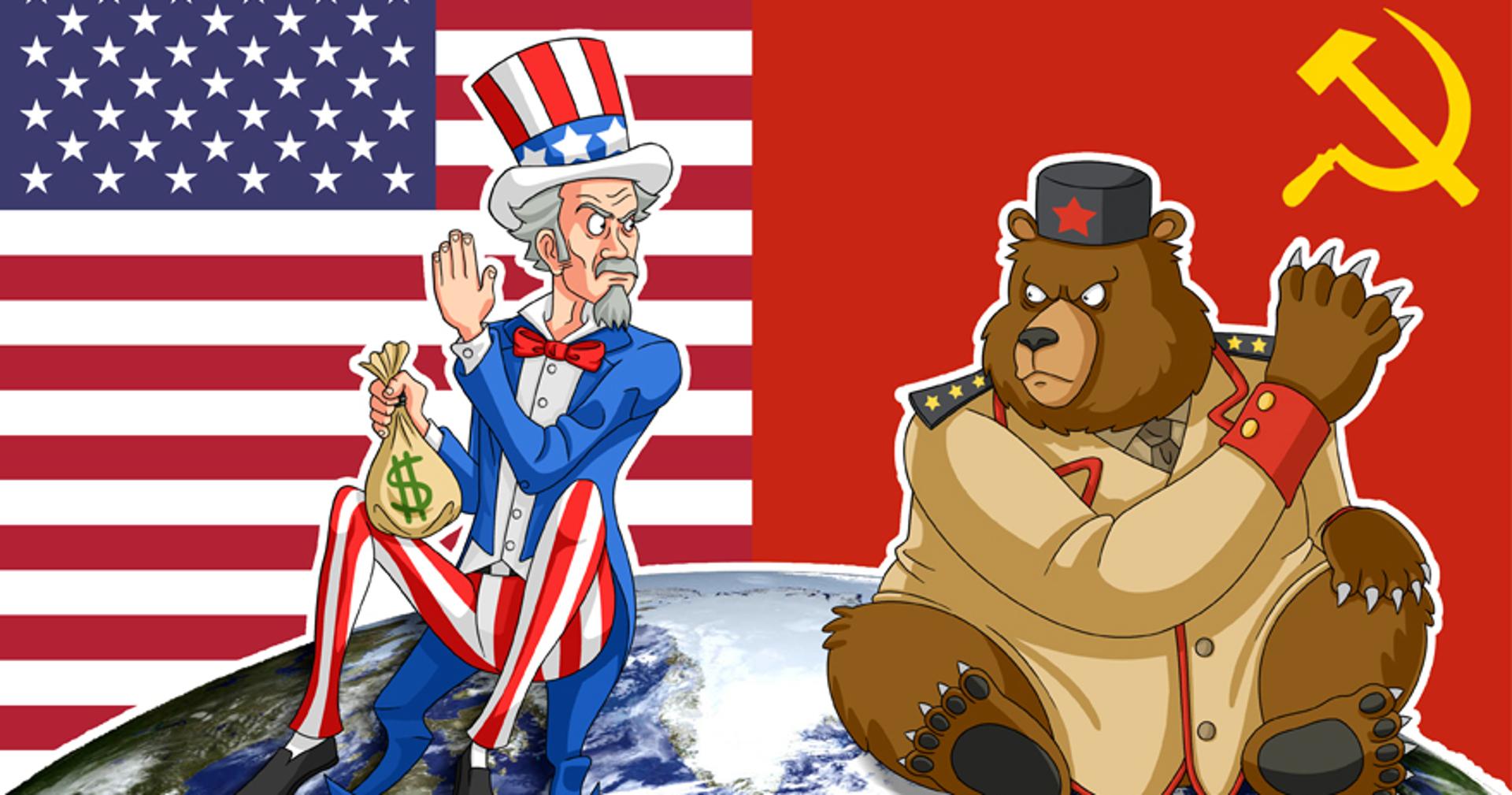 Прикольные картинки про америку и россию, экспресс карьера картинки