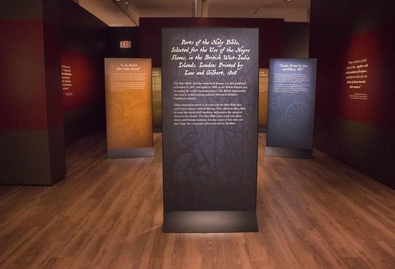 إنجيل العبيد في متحف الكتاب المقدس
