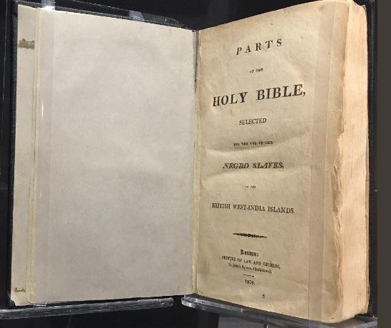 نسخة من إنجيل العبيد