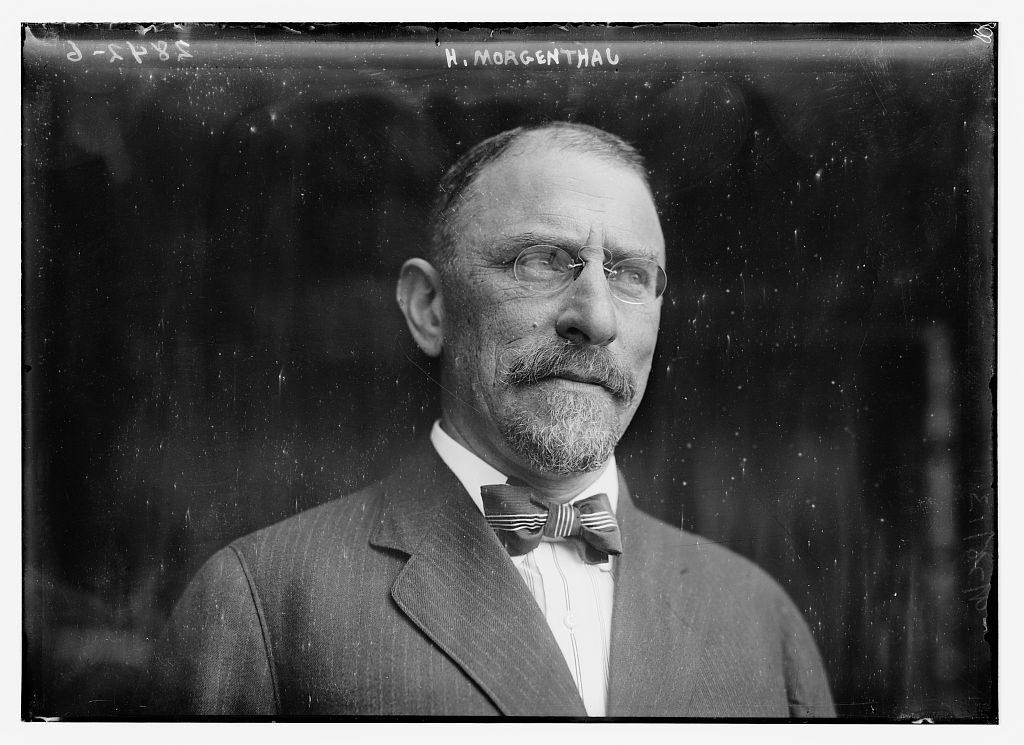 هنري مورجنثاو سفير الولايات المتحدة الأمريكية الأسبق