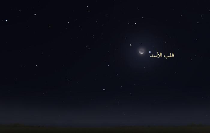 سماء الليل كواكب فلك رصد فلكي