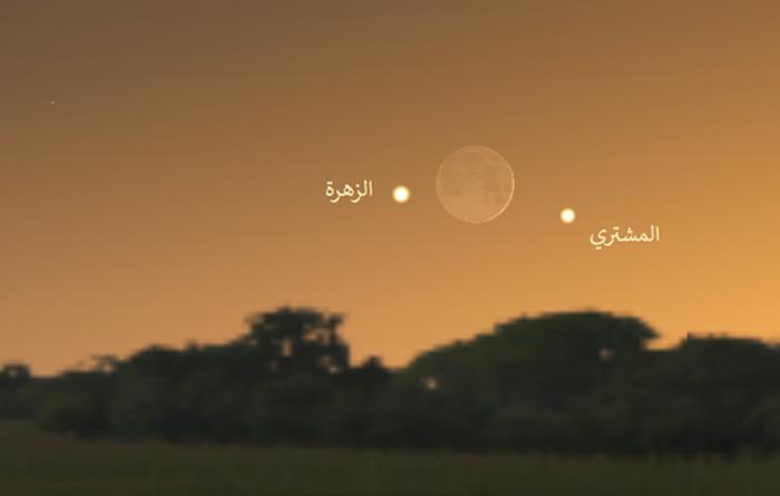 سماء الليل نوفمبر رصد فلكي