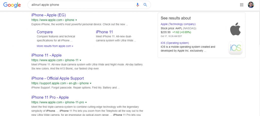 بحث في الرابط بحث جوجل